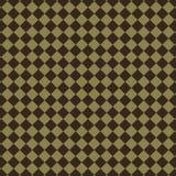 抽象棕色金刚石样式 免版税库存图片
