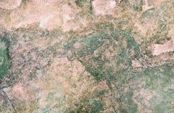 抽象棕色颜色仿造带红色石表面石灰华 免版税库存图片