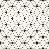 抽象概念传染媒介单色几何样式 黑白最小的背景 创造性的例证模板 库存照片