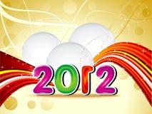 抽象概念新年度 库存照片