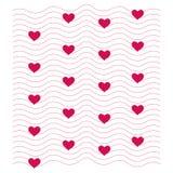 抽象概念重点例证图象爱模式空间文本 背景为恋人或华伦泰题材看起来甜和美好 向量例证