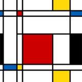 抽象模式无缝的向量 免版税图库摄影