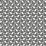 抽象模式无缝的向量 库存例证