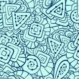 抽象模式无缝的形状 免版税库存图片