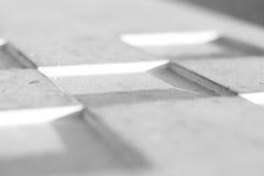 抽象模式正方形白色 库存图片