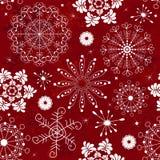 抽象模式红色无缝 库存照片