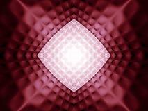 抽象模式红色 库存例证