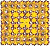 抽象模式螺旋 库存图片