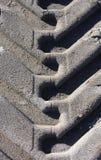 抽象模式跟踪轮胎 库存照片