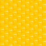 抽象模式黄色 免版税库存图片