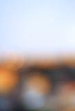 抽象模糊的bokeh背景 Defocused和五颜六色的亮点,淡色 免版税库存图片