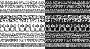 抽象模件线玛雅人样式 免版税图库摄影