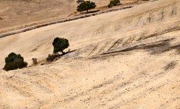 抽象横向在Andalucia 免版税库存图片