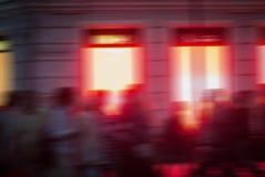 抽象横向晚上 免版税库存照片