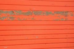 抽象橙色房屋板壁 免版税图库摄影