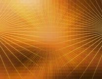 抽象橙色线技术背景 图库摄影