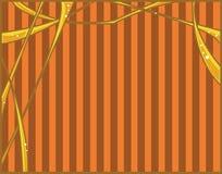 抽象橙黄色 库存照片