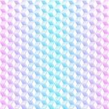抽象氖求无缝的背景的立方 免版税库存照片