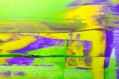 抽象水彩背景,手画刷子冲程 库存照片