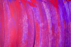 抽象水彩背景,手画刷子冲程 免版税库存照片
