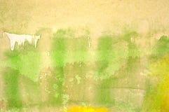 抽象水彩背景 免版税库存图片