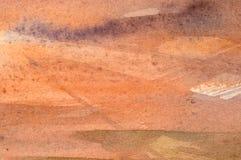 抽象水彩背景 库存照片