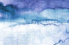 抽象水彩背景 免版税库存照片