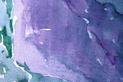 抽象水彩背景 图库摄影