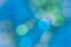 抽象水色背景蓝绿色绿松石 免版税库存图片