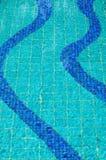 抽象池游泳 库存照片