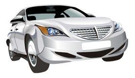 抽象汽车查出的向量 免版税库存照片