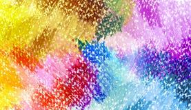 抽象油柔和的淡色彩被绘的背景 库存照片