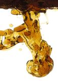抽象油水 图库摄影