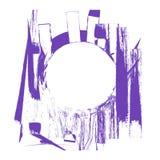 抽象油漆来回空间 免版税图库摄影