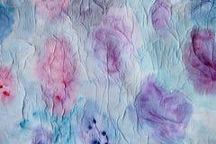 抽象油漆水彩 免版税图库摄影