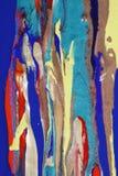 抽象油漆 库存图片