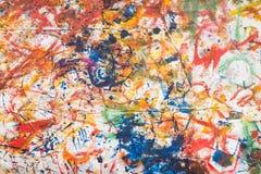 抽象油漆 免版税库存图片