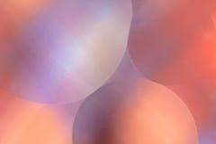抽象泡影 库存照片