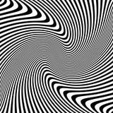 抽象波浪线纹理 库存图片