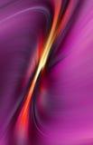 抽象波浪背景紫色的口气 皇族释放例证