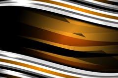 抽象波浪褐色背景 图库摄影