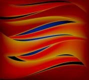 抽象波浪 免版税库存图片