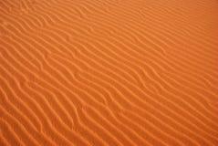 抽象波纹沙子 库存照片