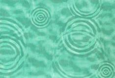 抽象波纹绿松石水 免版税图库摄影