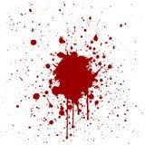 抽象泼溅物红颜色背景设计 例证vecto 免版税库存图片