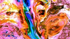 抽象派墨水油漆疾风爆炸动荡 库存例证