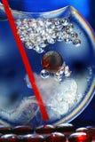 抽象派水晶玻璃 免版税图库摄影