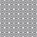 抽象派现代几何无缝的样式 免版税库存图片