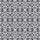 抽象派现代几何无缝的样式 库存图片