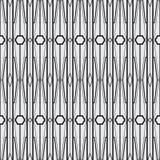 抽象派现代几何无缝的样式 免版税库存照片